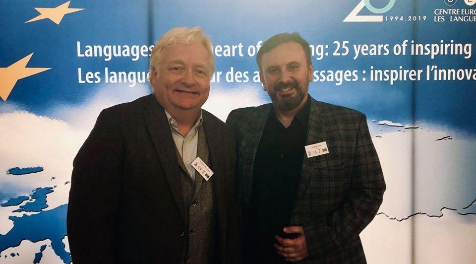 "6 grudnia 2019 r. – sesja naukowa ""Protecting and promoting sign languages in Europe"""